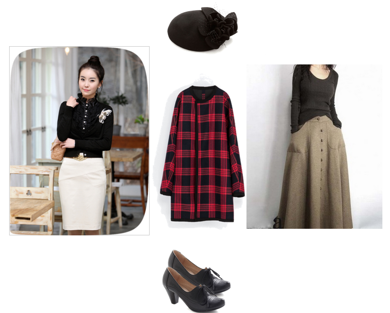 The Ghost and Mrs. Muir outfit