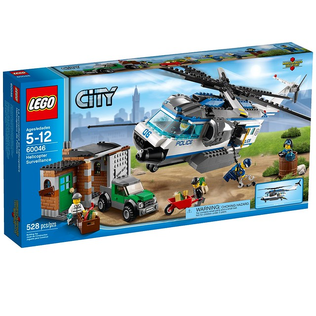 LEGO City 60046 - Helicopter Surveillance