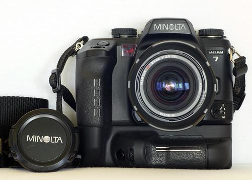 minolta md lenses original owners manual