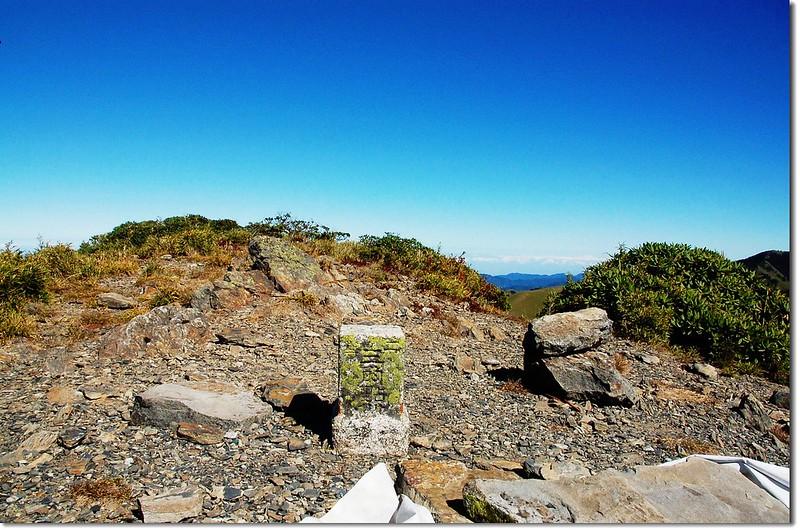 大雪山二等三角點(# 1545 Elev. 3529 m) 2