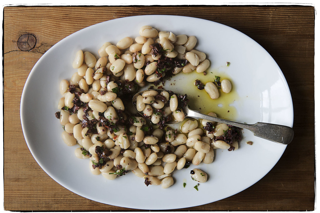Halfway to Dinner Beans from Food52
