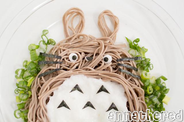 Non-bento #49: Totoro tororo Soba