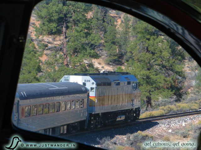 PIC: Views aboard the Grand Canyon Railway