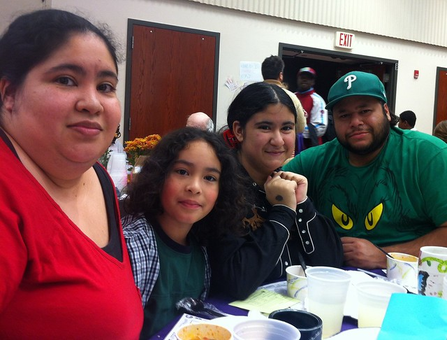 The Baez family found shelter with the Northwest Philadelphia Interfaith Hospitality Network