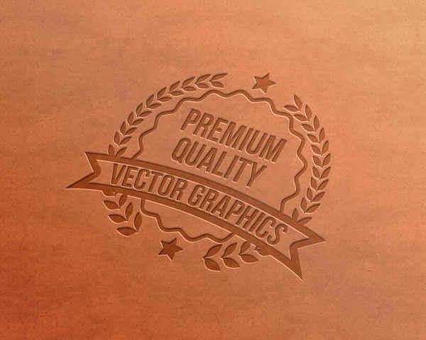 logotipo en piel