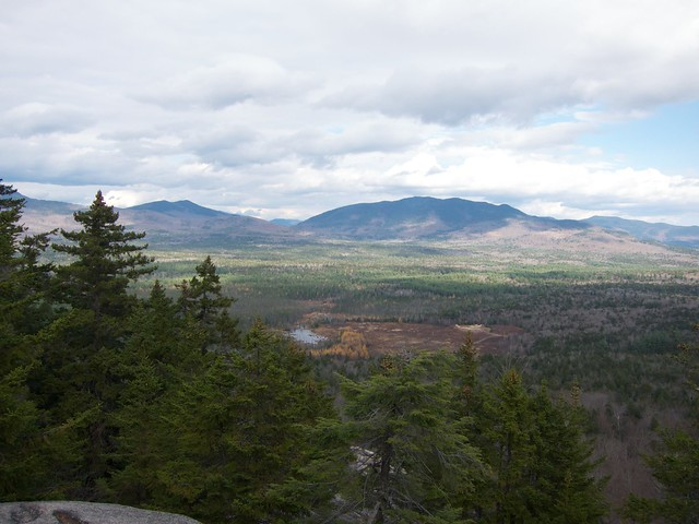 Allen's Ledge, Hedgehog Mountain, New Hampshire, Sandwich Range, UNH Trail, White Mountains