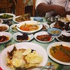 #Masakan #Aceh (Acehnese cuisine), w favorite, ikan kayu, the top dish. In #Sigli