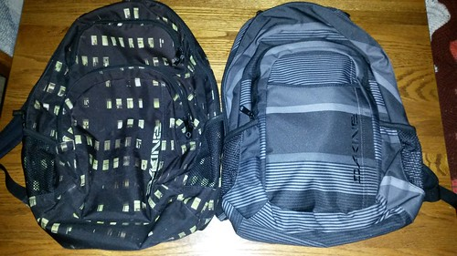 Old backpack, new backpack by christopher575