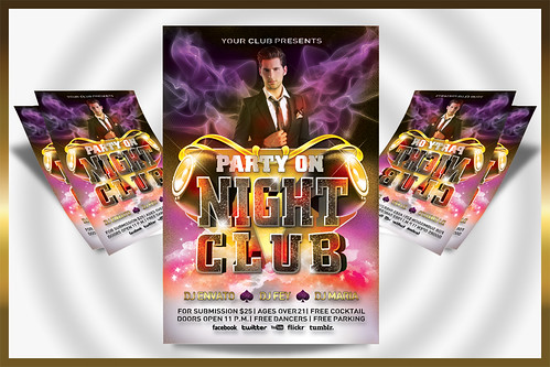 Night Club Party Flyer