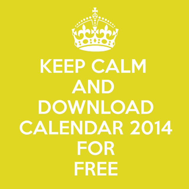 download calendar 2014 for free