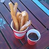 Churros stop on the Southbank