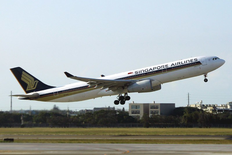 9V-STS Singapore Airlines Airbus A330-343