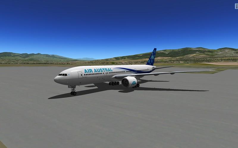 Vmax 777 boeing 777 worldliner extended for x-plane flightsim.