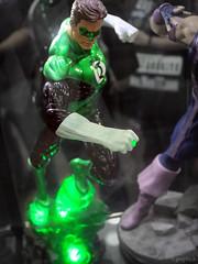 Green Lantern light-up statue