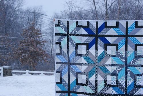 snowy stars align detail