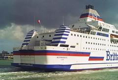 NORMANDIE (IMO: 9006253) RO-RO/PASSENGER SHIP 27451 tons.