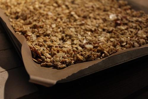 baking granola