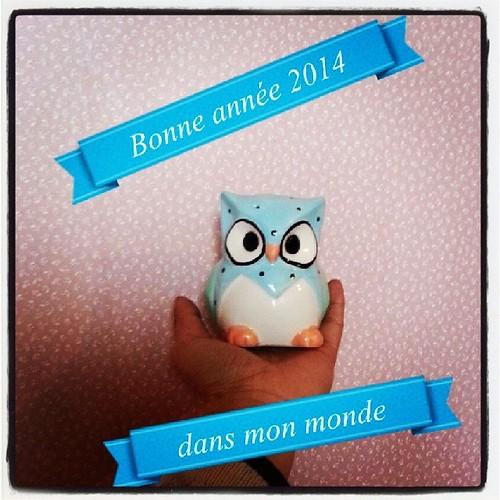 ♥ bonne année 2014 à vous tous et merci pour votre présence ♥ #bonneannee #goodyear #2014 #france #ourlittlefamily