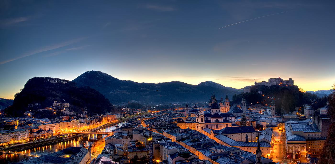 ผลการค้นหารูปภาพสำหรับ salzburg sunrise hdr
