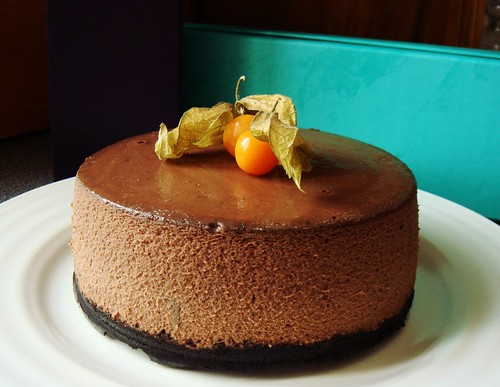 Slow Cooker Chocolate Cheesecake