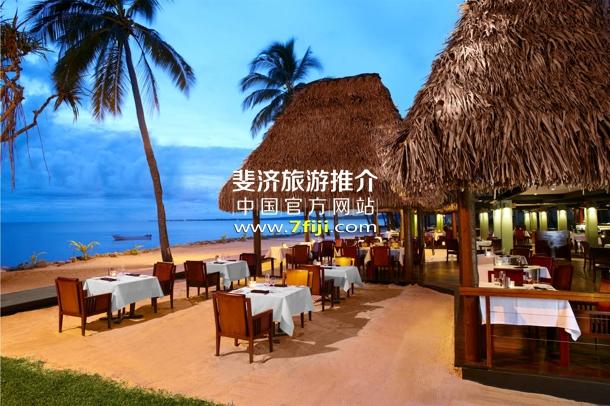 牛排馆沙滩用餐
