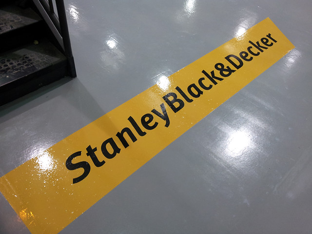 Stanley Black & Decker in a joint venture company that will offer software products to track objects