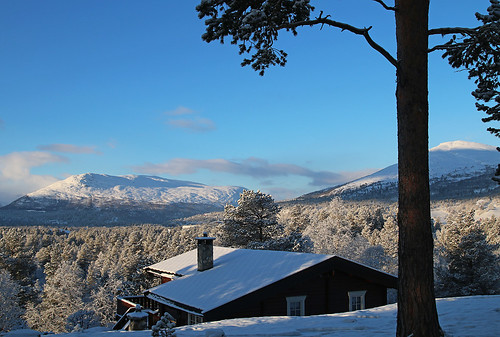 winter norway bjorli