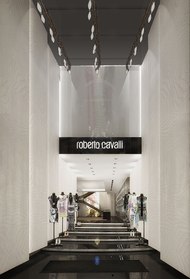 1 Roberto Cavalli Milan Entrance