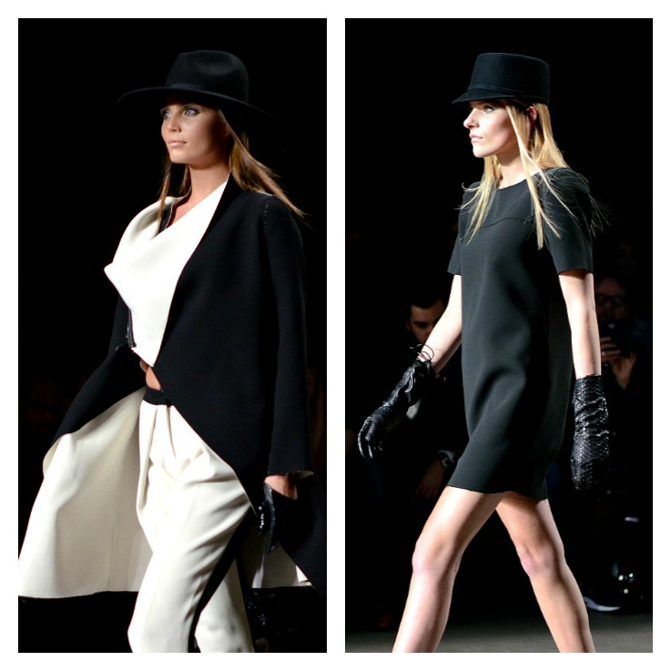 Collage Tony Cohen Fashion week 2014
