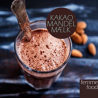 Kakao-mandel-mælk