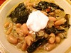 Vegan Southern Style Collard Greens and Canellini Beans