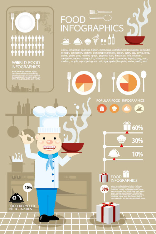 10529-elements-of-food-infographics-vector
