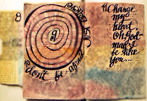 Art Journal Every Day: Spiral