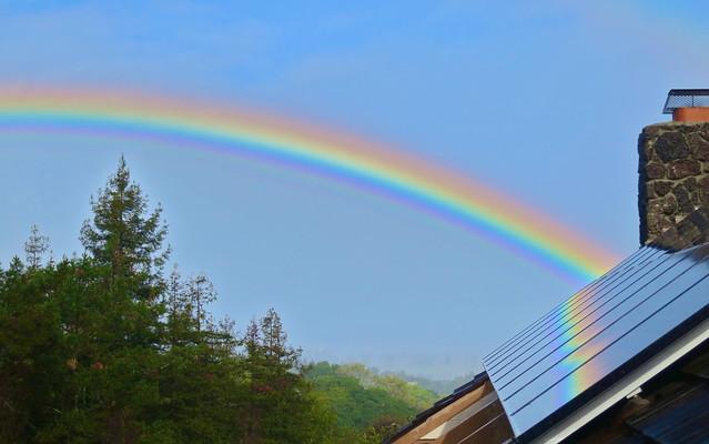 Solar Rainbow greeting m... 虹の架け橋 : 転職エージェントのための