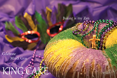 Celebrate Mardi Gras with a King Cake