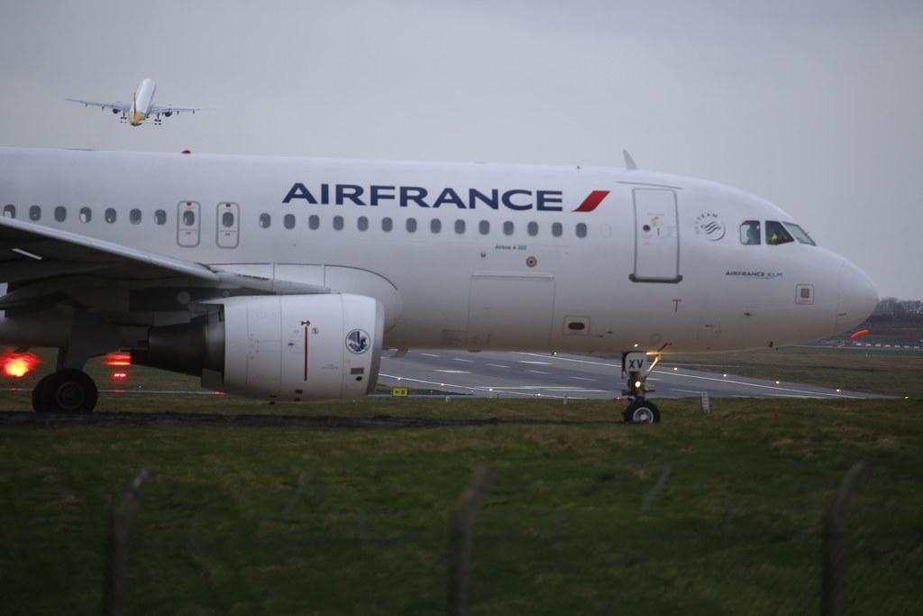 F-GKXV - Air France - A320 in BHX