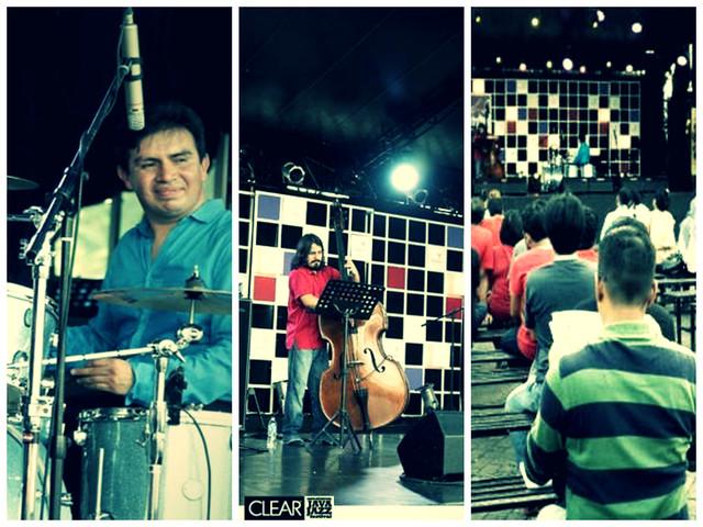 Trío Adrián Oropeza en el Java Jazz Festival 2014