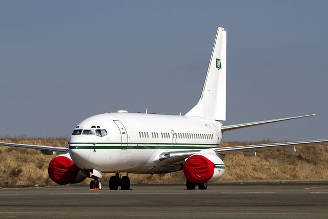 Saudi Arabian B737