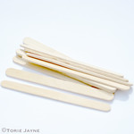 Wooden lollipop craft sticks
