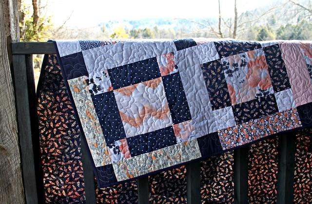 A Winter's Garden Quilt