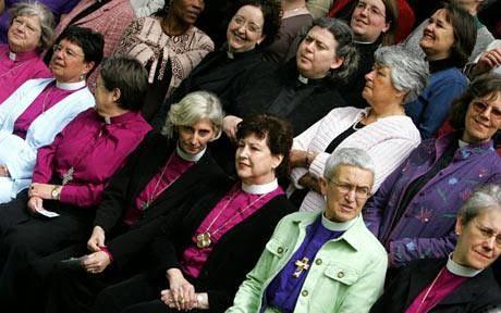Celebración de los 20 años de mujeres anglicanas ordenadas