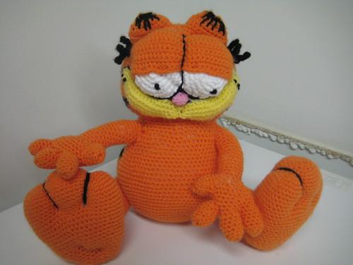 Crocheted Garfield