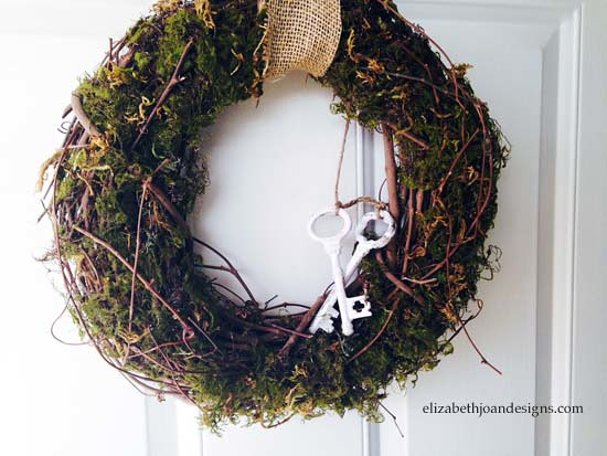 Spring Moss Wreath 10