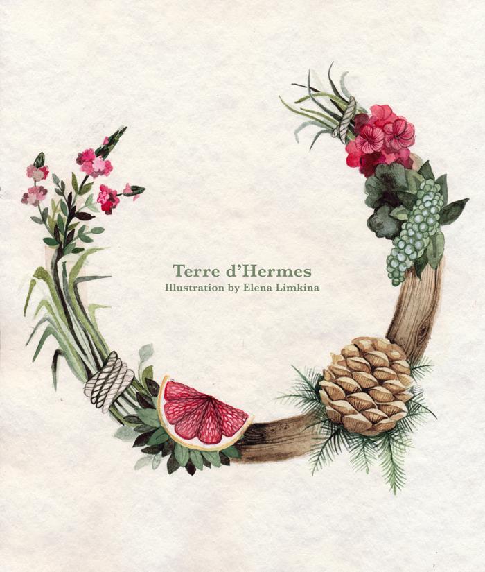 Floral. Terre d'Hermes