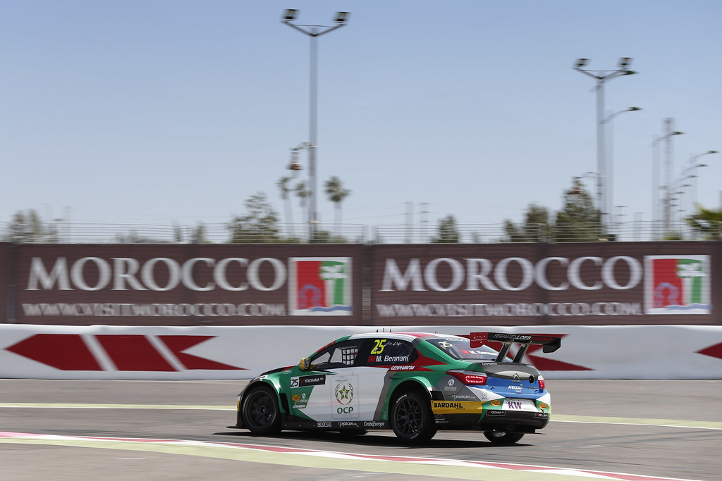 25 BENNANI Mehdi (mor) Citroën C-Elysée team Sébastien Loeb Racing action during the 2017 FIA WTCC World Touring Car Race of Morocco at Marrakech, from April 7 to 9 - Photo Jean Michel Le Meur / DPPI.