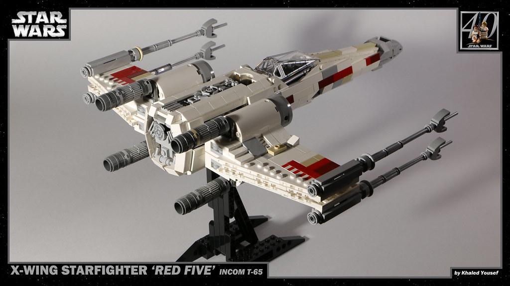 LEGO Star Wars - T-65 X-Wing 3 4K