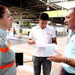 qua, 19/04/2017 - 08:19 - Ver. Cláudio da Drogaria Duarte durante visita técnica à estação de ônibus do BRT-Move Venda Nova,  com a finalidade de fiscalizar e avaliar suas condições.Foto: Rafa Aguiar