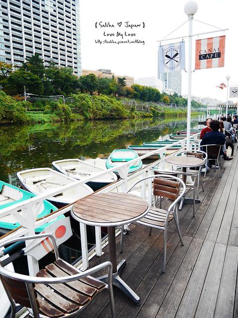 日本東京自由行賞櫻canal cafe水上餐廳 (10)