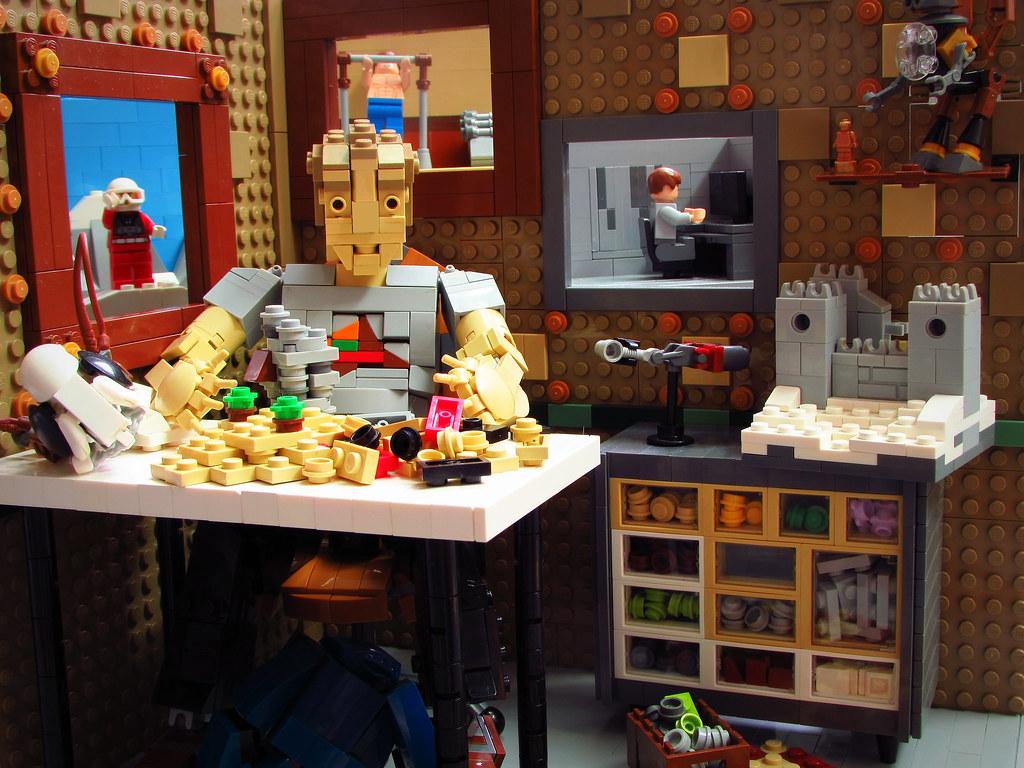 Who would I be without LEGO? (custom built Lego model)