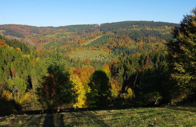 Autumn scenery at Filipka settlement